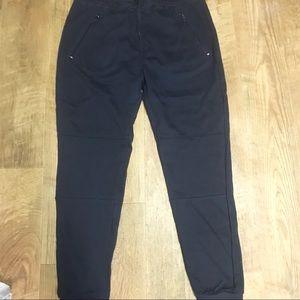 Agcatton Women's Slim Fit Blue Sweatpants Size XL